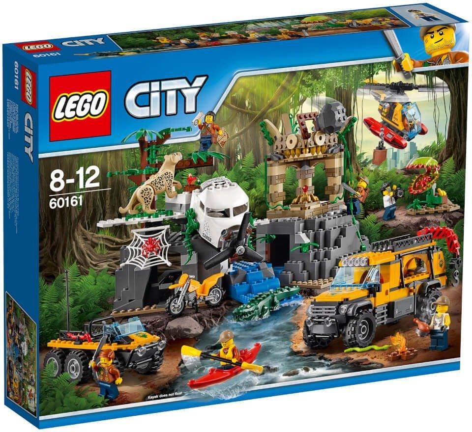 Bild zu Lego City Dschungel-Forschungsstation (60161) für 59,99€ (Vergleich: 67,95€)
