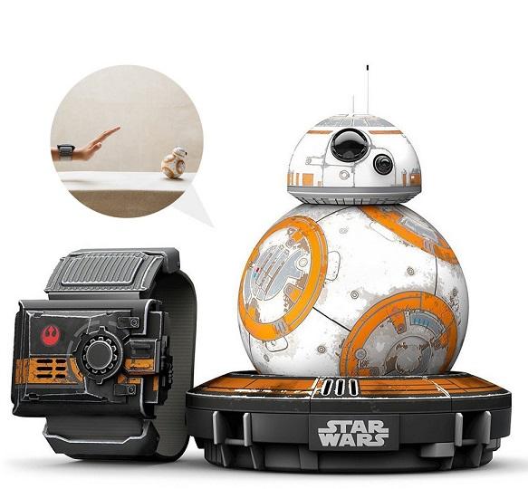 Bild zu Interaktiver app-gesteuerter Star Wars Droide Sphero BB-8 für 55,90€ (Vergleich: 66,45€)