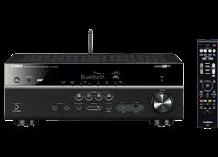 Bild zu YAMAHA RX-V481D AV-Receiver (6 Kanäle, 115 Watt pro Kanal, Schwarz) für 299€ inkl. Versand (Vergleich: 355,99€)