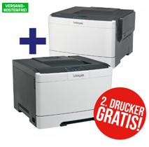 Bild zu [Super] LEXMARK CS317dn Farblaser-Drucker für 99€ + zweiten Drucker gratis