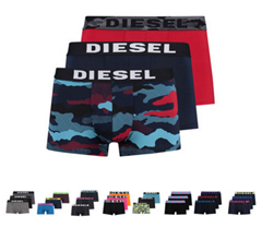 Bild zu 3er Pack Diesel Herren Boxershorts für je 19,90€