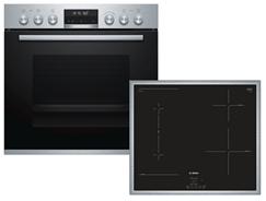 Bild zu Bosch HND676OS60 Einbauherd-Set mit Induktions-Kochfeld für 1.229€