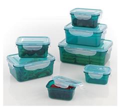 Bild zu GOURMETmaxx Frischhaltedosen Klick-it (smaragdgrün, 28-teilig) für 19,99€