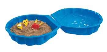 Bild zu Big Sand-/Wassermuschel blau für 10€