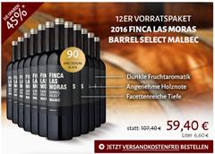 Bild zu Club-of-Wine: 12 Flaschen Finca las Moras Barrel Select Malbec für 54,40€