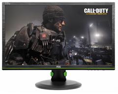 Bild zu AOC G2460PG (24 Zoll) Gaming-Monitor (Displayport, USB 3.0, 1ms Reaktionszeit, 1920 x 1080, 144 Hz, Nvidia G-Sync, EEK: C) für 299€