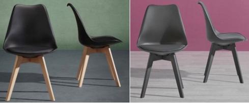 Bild zu Esstisch-Stuhl Rocky oder Vega für 14,90€ inklusive Versand (oder 3 Stück für 34,70€ = 11,56€/Stuhl)