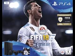 Bild zu SONY PlayStation 4 1TB Schwarz + FIFA 18 + 2. DualShock4 Controller + PS Plus 14 Tage für 299€ inkl. Versand (Vergleich: 349€)
