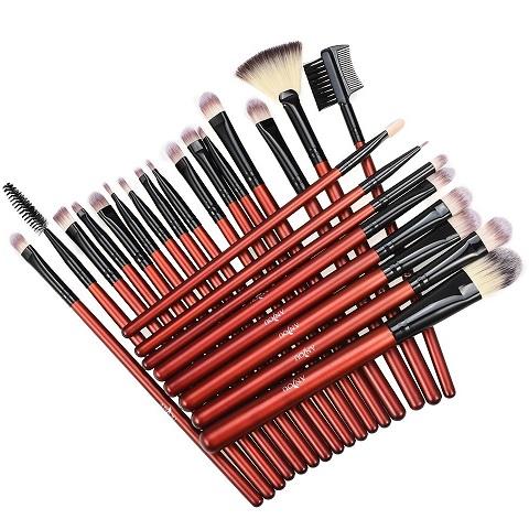 Bild zu [Prime] 24-teiliges Anjou Augen Makeup Pinsel- und Bürsten-Set für 5,39€