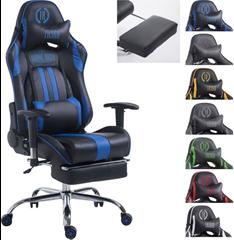 Bild zu Plus: Racing Bürostuhl XL LIMIT mit Kunstlederbezug (Metallgestell, höhenverstellbar, belastbar bis 150 kg) für 134,91€ inkl. Versand (Vergleich: 149,90€)