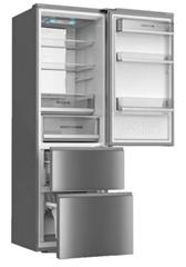 Bild zu Haier A3FE735CMJ Kühl-Gefrierkombination (A++, No Frost, Edelstahl) für 529,90€
