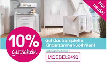 Bild zu Babymarkt: nur heute 10% Rabatt auf das Kinderzimmer-Sortiment