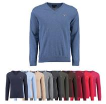 Bild zu Gant Herren Pullover V-Neck (100% Wolle) für je 39,90€