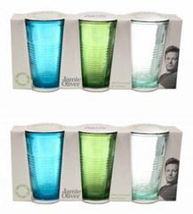 Bild zu 18-teiliges Gläser Set von Jamie Oliver (bunt oder klar) für je 22,12€