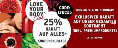 Bild zu The Body Shop: 25% Rabatt auf alles (nur für Club Mitglieder)