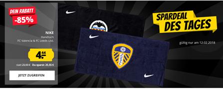 Bild zu SportSpar Deal des Tages: Nike Handtuch FC Valencia & FC Leeds für je 4,44€ zzgl. 3,95€ Versand