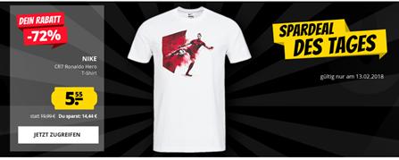 Bild zu SportSpar Deal des Tages: CR7 Ronaldo Hero Nike Herren T-Shirt für je 5,55€ zzgl. 3,95€ Versand