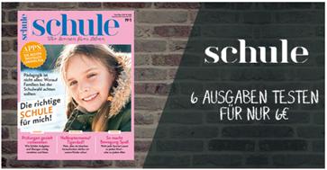 """Bild zu Jahresabo (6 Ausgaben) der Zeitschrift """"Schule"""" für nur 6€ (statt 35,70€)"""