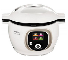 Bild zu Krups CZ7101 Multikocher Cook4Me+ (6 L, 1600 W) weiß/grau für 154,75€