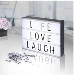 leuchtkasten im a4 format mit buchstaben zahlen und co f r 9 99. Black Bedroom Furniture Sets. Home Design Ideas