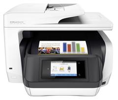 Bild zu HP OfficeJet Pro 8720 Tintenstrahl-Drucker D9L19A (A4, Drucker, Kopierer, Scanner, Fax, Duplex, WLAN) für 137,50€