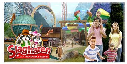 Bild zu Eintrittskarte für den Erlebnispark Slagharen (Niederlande) für 9,90€ anstatt 29€