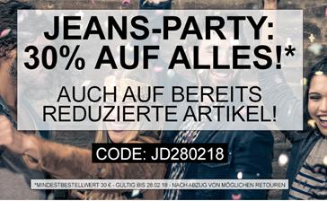 Bild zu Jeans Direct: 30% Rabatt auf alles (auch auf reduzierte Artikel)