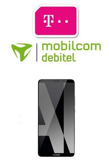 Bild zu Telekom Magenta Mobil S mit einer 2-4GB LTE Datenflat, SMS Flat, Sprach Flat, EU Flat inklusive Huawei 10 Pro (einmalig 49€) ab 34,95Monat