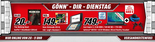 """Bild zu MediaMarkt """"Gönn dir Dienstag"""" mit Games & Filmen und Zubehör"""