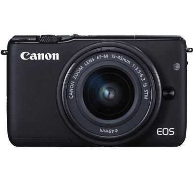 Bild zu [Top] Systemkamera Canon EOS M10 Kit 15-45 mm f/3.5-6.3 für 222€ (Vergleich: 300,98€)