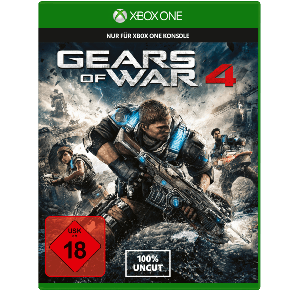Bild zu Gears of War 4 [XBox One] für 12,99€