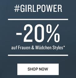 Bild zu Tom Tailor: 20% Rabatt auf alle Frauen & Mädchen Styles