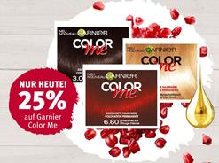 Bild zu Rossmann: 25% Rabatt auf Color me Haarfarbe (nur Online)