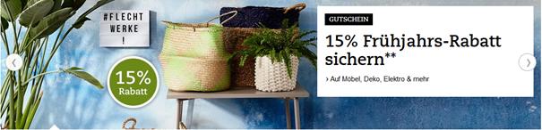 Bild zu Thalia: 15% Rabatt auf Möbel, Deko, Elektro & mehr