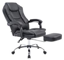 Bild zu CLP CASTLE Chefsessel mit verstellbarer Fußablage und Rückenlehne (max. 130kg) für je 90,99€