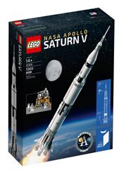 Bild zu LEGO Ideas – 21309 NASA Apollo Saturn V für 95,99€ (Vergleich: 116,25€)