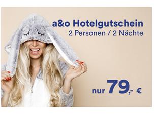 Bild zu Hotelgutschein für 2 Übernachtungen für 2 Personen inklusive Frühstück in einem A&O Hotel für 79€ (oder mit 2 Kindern für 92,50€)