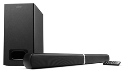 Bild zu MEDION LIFE E64126 Wandelbare 2.1 TV Soundbar mit kabellosem Subwoofer für 89,95€
