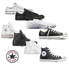Bild zu Converse Chucks Taylor All Star HI/Low Leder Schuhe für je 35€ (nur eBay Plus Mitglieder)