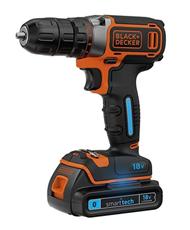 Bild zu Black & Decker BDCDC18KST Smart Tech 18 V Akku-Bohrschrauber für 71,96€