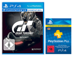 Bild zu Gran Turismo Sport Day 1 Edition + PlayStation Plus Card 12 Monate ab 39€