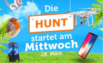 Bild zu [ab Donnerstag 0 Uhr] iBood Hunt Day – alle paar Minuten neue Schnäppchen