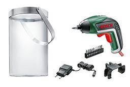 Bild zu Bosch Akkuschrauber IXO (mit Solarlampe, 10 Bits, Micro USB Ladegerät, Karton, 3,6 Volt, 1,5 Ah) für 44,91€