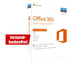 Bild zu Microsoft Office 365 Home Abonnement – 1 Jahr (Code in a Box) für 5 Benutzer für 55€