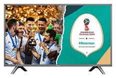Bild zu Hisense H43NEC5605 (43 Zoll) Fernseher (Ultra HD, HDR, Triple Tuner, Smart-TV) [EEK: B] für 379,90€