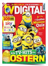 """Bild zu [Super] bis zu 14 Monate """"TV Digital XXL"""" für 55€ + z.B. 50€ Amazon.de Gutschein als Prämie (oder auch 55€ Otto Gutschein)"""