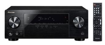 Bild zu Pioneer VSX-531-B 5.1-Kanal-Receiver (5×130 Watt, 4 HDMI-Eingängen, Bluetooth, USB) für 169,90€