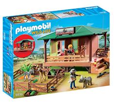 Bild zu Playmobil 6936 – Rangerstation mit Tieraufzucht für 29,94€