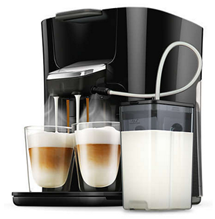 Bild zu PHILIPS Senseo Latte Duo Plus HD6570/60 Kaffeepadmaschine für 116,99€