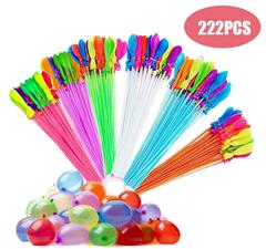 Bild zu 222 Wasserballons mit Adapter zum Befüllen für 3,06€